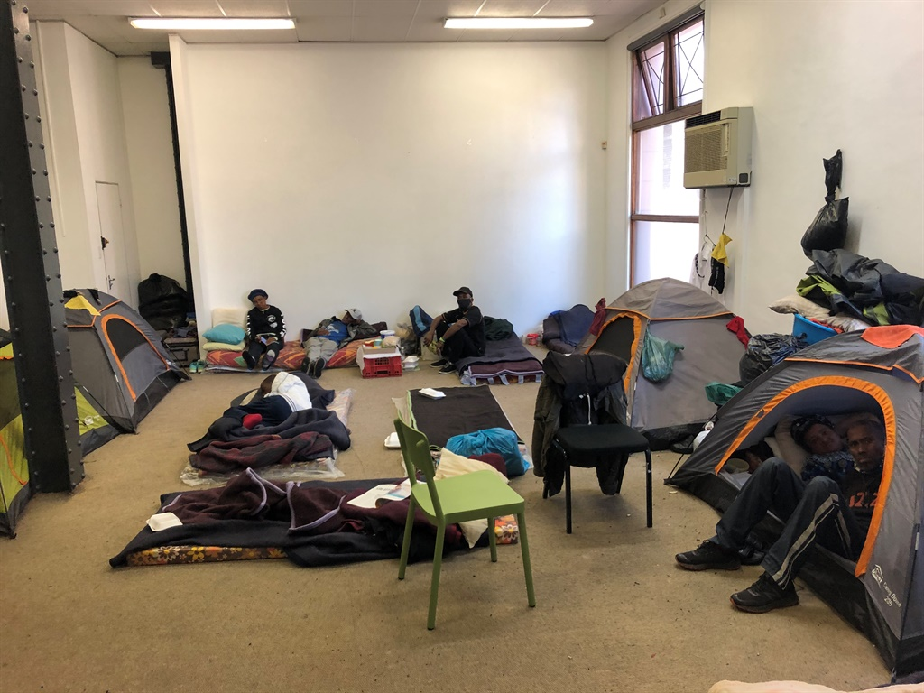 News24.com | Community Chest houses homeless group in its Cape Town office for winter
